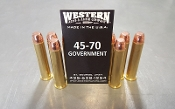 45-70 Government - New Brass - 350gr Flat Point - 100 rds