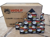 Wolf 7.62x39 122gr FMJ - NEW - 1,000 rds